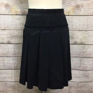 BCBGMAXAZRIA  A Line Black Career Skirt Sz 2